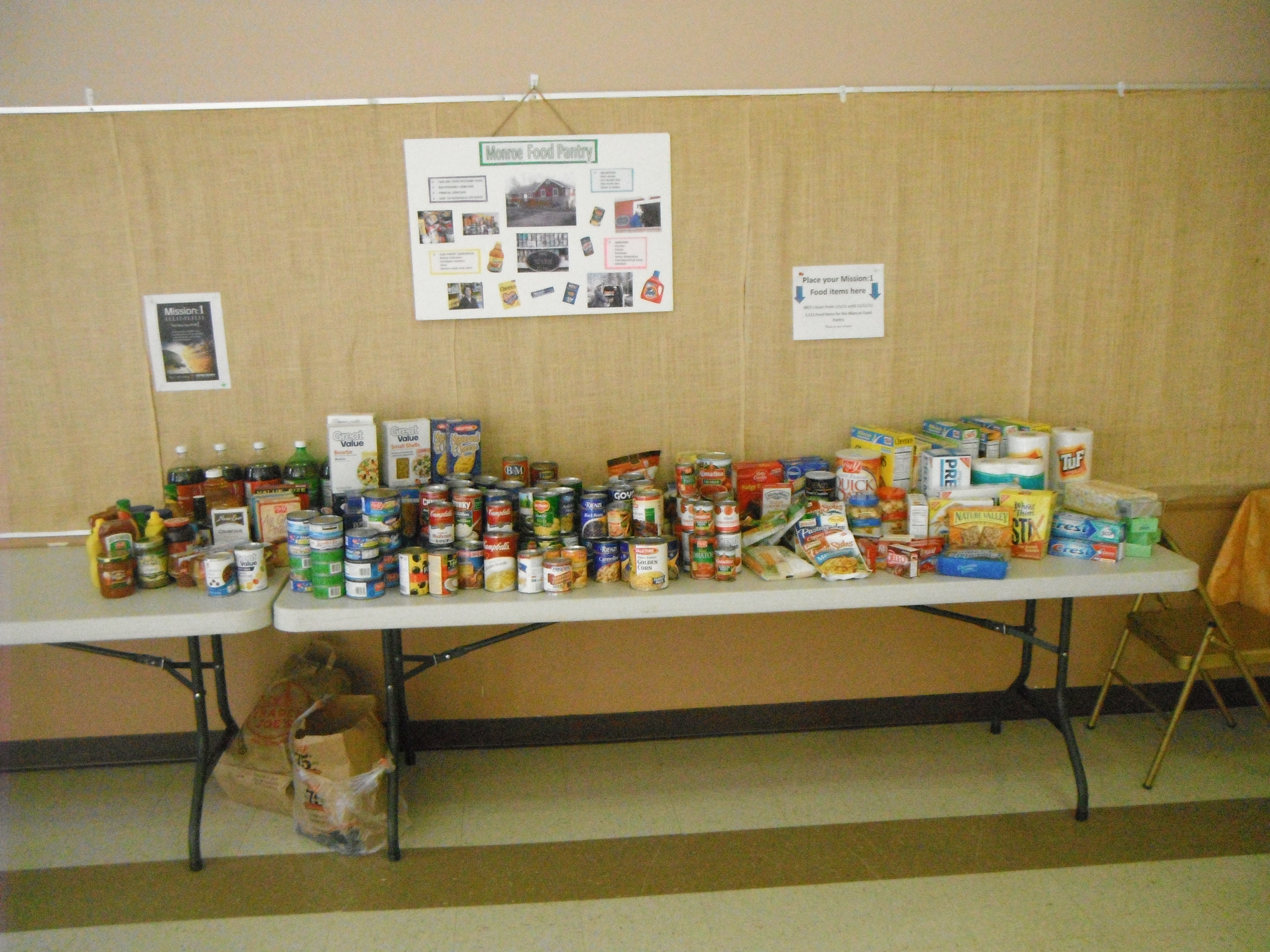 Outreach Food Drive 1